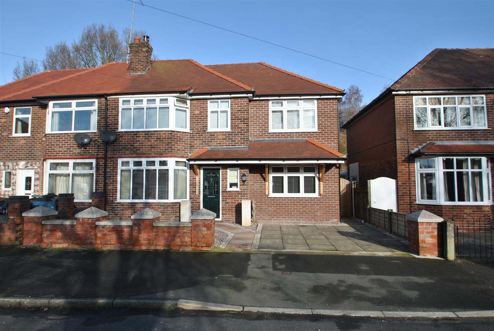 4 Bedrooms Semi Detached House for sale in Springfield Avenue, GRAPPENHALL,, Warrington, WA4